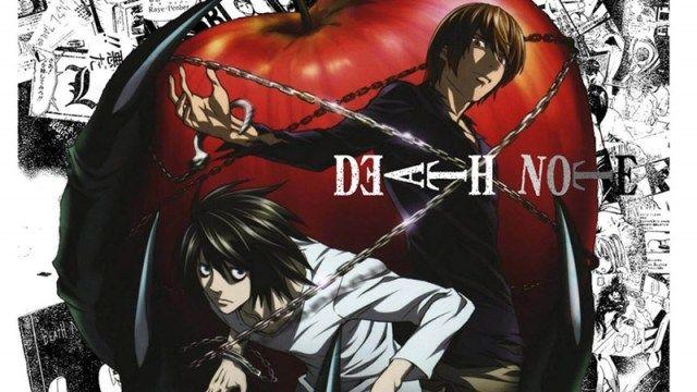 Death Note melhores animes da netflix