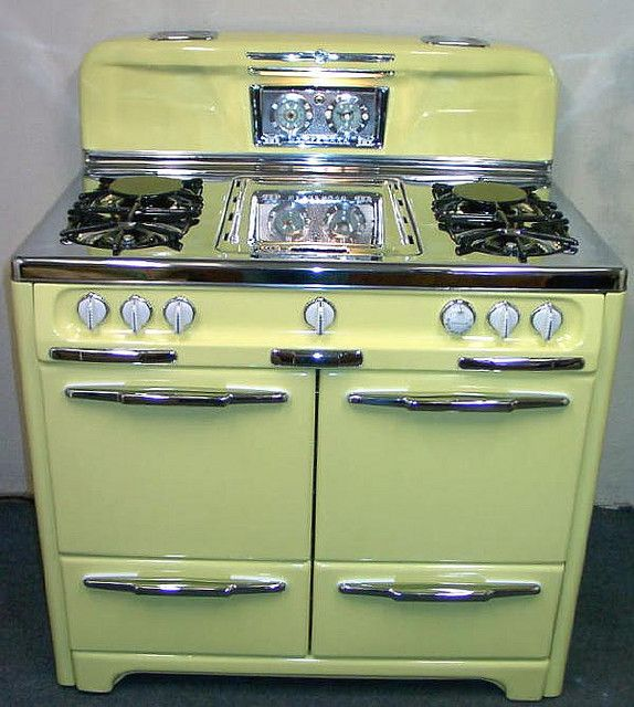 Yellow Small Kitchen Appliances: 985 Best Images About Vintage Stoves On Pinterest