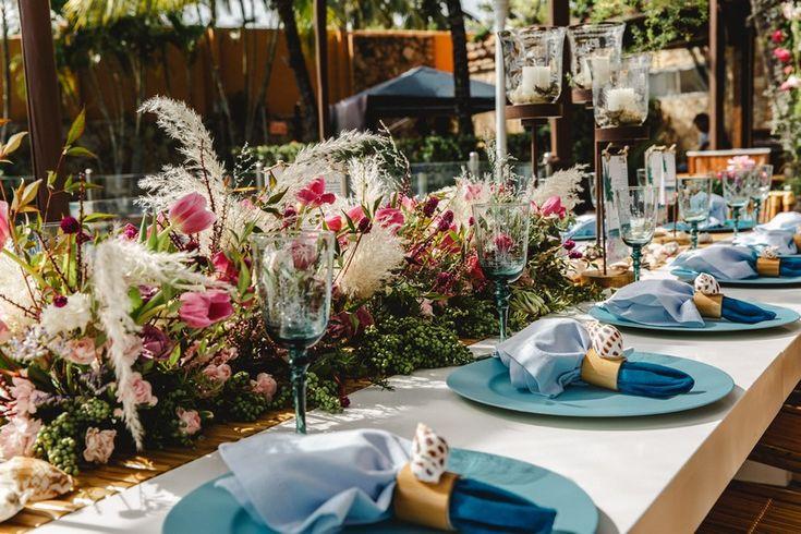 Casamento na praia: Karla & Junior   – decoração de casamento ao ar livre