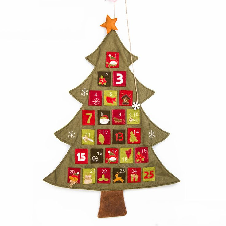 Funny Christmas Tree Decorations Part - 30: 2016 NEW Funny Cartoon Christmas Tree Decorations For Children Gifts  Christmas Calendar Countdown To Christmas Advent