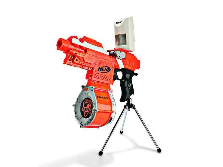 New Nerf Guns 2014 | Office Buddy: Nerf Sentry Gun and More Hacks