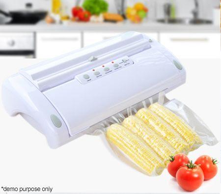 Maxkon Vacuum Food Saver Preservation Heat Sealer w/ Free Bag Rolls - Save 22% -  Keeps Food Fresh Up to Three Times Longer than Other Traditional Food Storage Methods