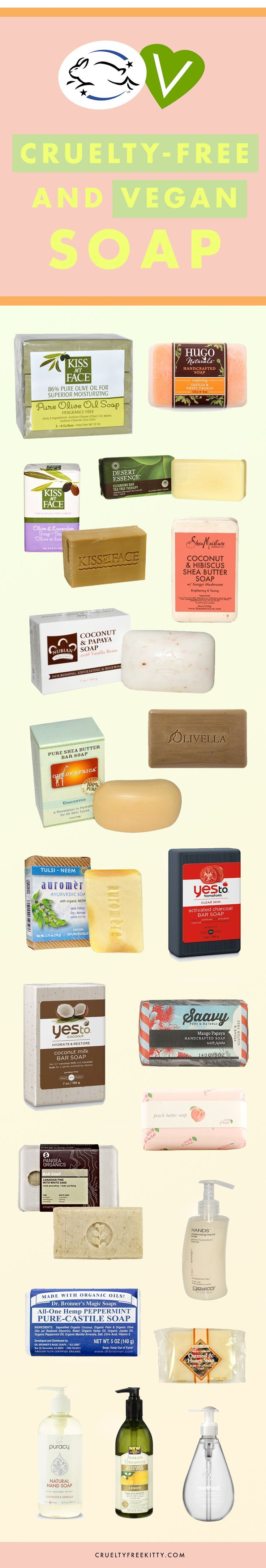 These cruelty-free and soap brands are animal-friendly and easy to find in stores.