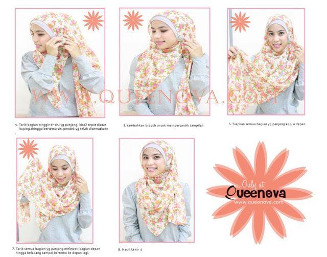 Queenova: Hijab Tutorial : Easy look part2