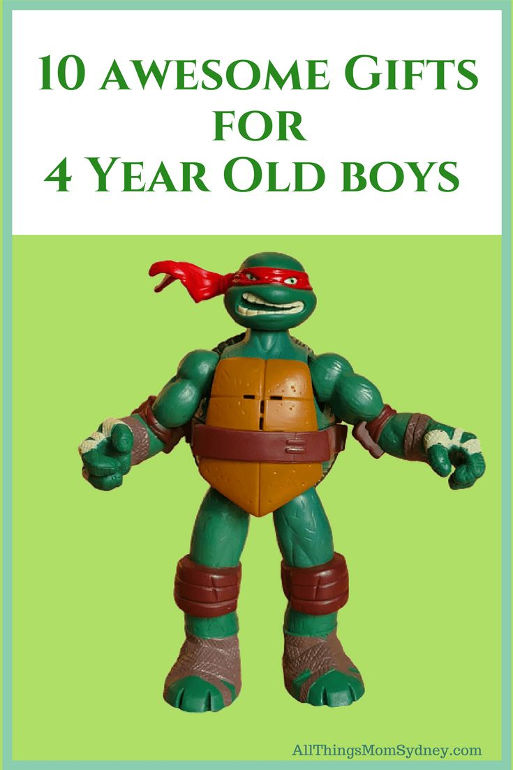 10 awesome presents for 4 year old boys