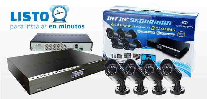 This BR All-in-One Combo Kit Series includes everything you need to setup a complete remote surveillance solution. With the stylish DVD and 4 KGUARD-exclusive weatherproof day/night cameras, this package is the ideal surveillance solution for your Home or Small business.