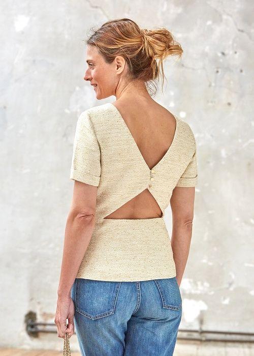 Blouse Marti  // Capsule de juin www.sezane.com #sezane #lookbook #capsule #juin #ciaosezane #amoremio #positani #napoli #italia #capri #amalfi #amalficoast #blouse #Marti