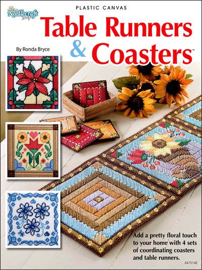 Plastic Canvas - Kitchen Patterns - For the table Patterns - Table Runners & Coasters