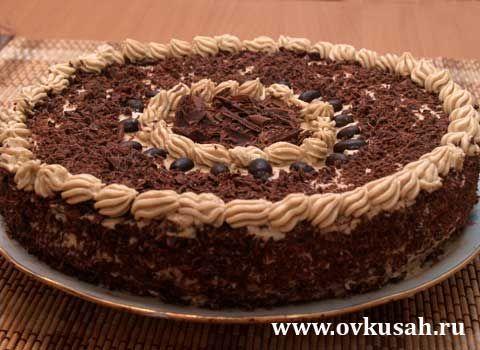 Торт мокко рецепт на английском