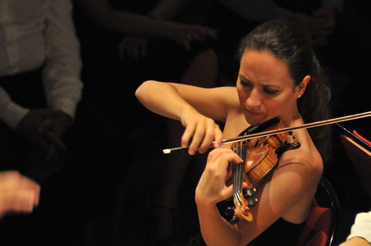 La violoniste Geneviève Laurenceau sur scène dans sa région natale - Le Festival international de Colmar (www.festival-colmar.com) - B. Fruhinsholz