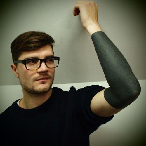 black ink / blackwork / black tattoo