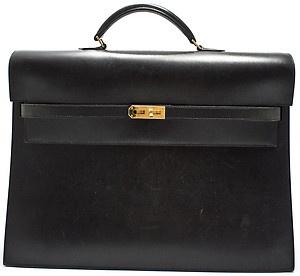 hermes kelly a depeche 38 dokument tasche business bag aktentasche document bag style kelly. Black Bedroom Furniture Sets. Home Design Ideas