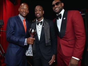 Congratulations to LeBron James and the Miami Heat for winning big last night at the ESPYs. The Miami Heat received two awards for Best Game 6 against the Spurs and for the second year in a row Best Team. LeBron James brought home Best Male Athlete, Championship Performance and Best NBA player.  #GoHeat #MiamiHeat #LeBronJames #ESPYs #Tuxedo