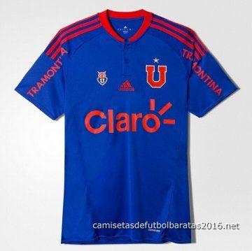 Camiseta Universidad de Chile 2016 1ª equipación