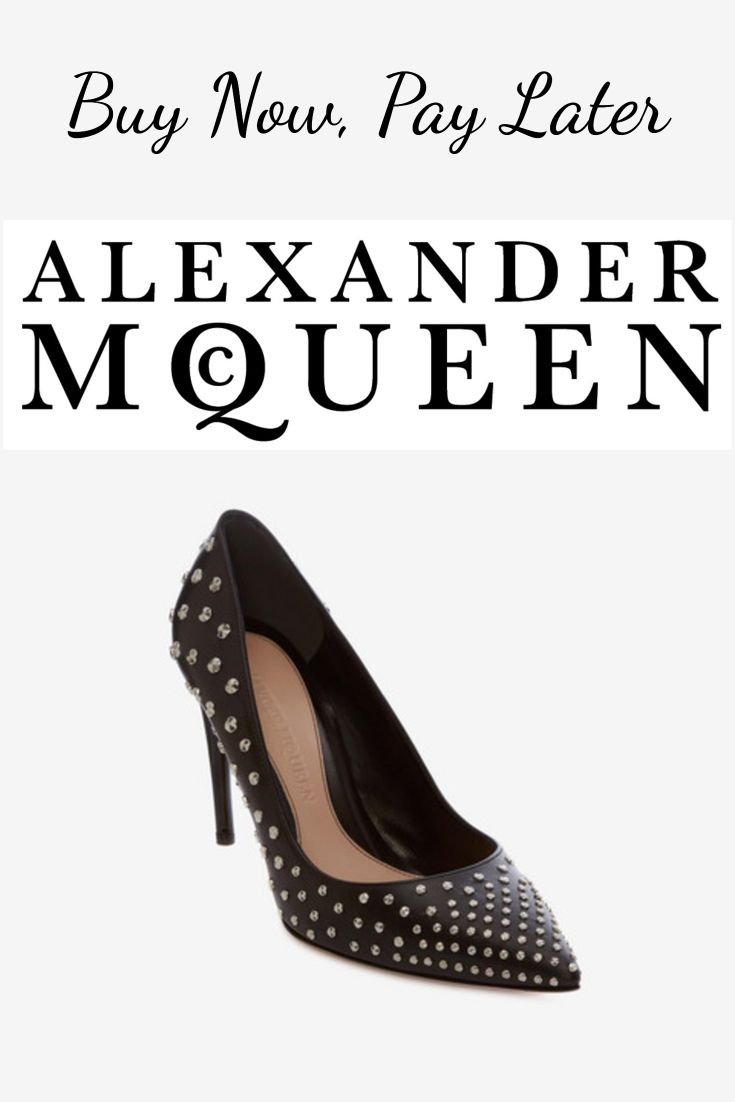 15054875f Buy Alexander McQueen Shoes Now, Pay Later #alexandermcqueen  #buynowpaylater #rhinestonepumps