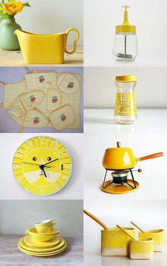 Yellow Kitchen #DeltaFaucetInspired