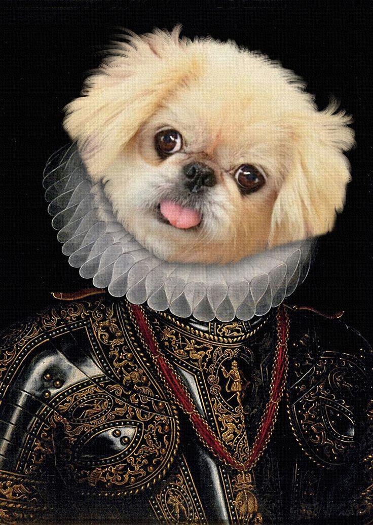 Portrait chien personnalisé d'après photo,portrait chien
