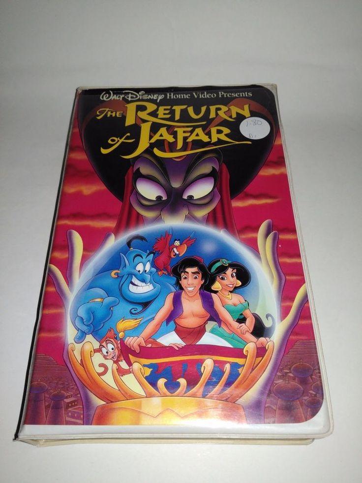 The Return of Jafar (VHS, 1994) Childrens Disney Movie VCR Tape