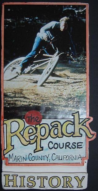 Repack. The first mountain bike race.