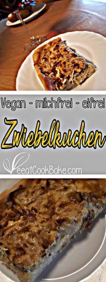 Der leckerste Zwiebelkuchen - gesund und vegan