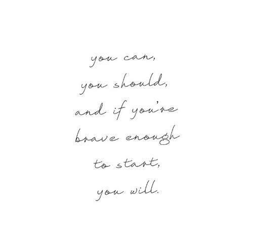 Yes, I will!