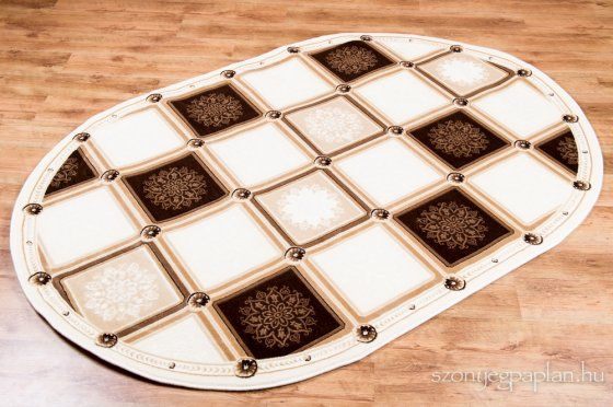 Seramoni 3521 Cream ovál szőnyeg 125x200 cm