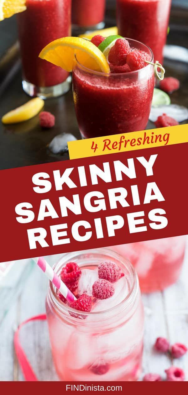 Dünne Sangria-Rezepte - Genießen Sie Ihren Lieblingscocktail, ohne Ihre Diät zu sprengen! ...