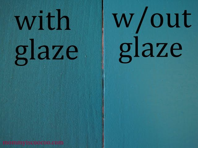 mommy is coo coo: How to Glaze Painted Furniture