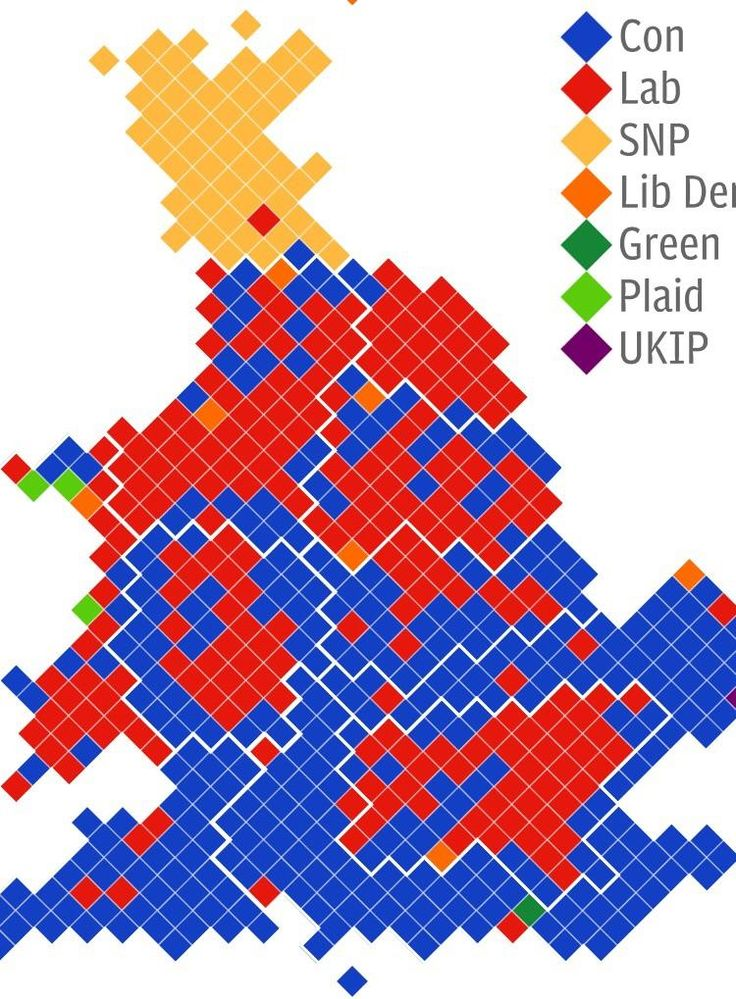 This UK vote map looks like a dying blue frog
