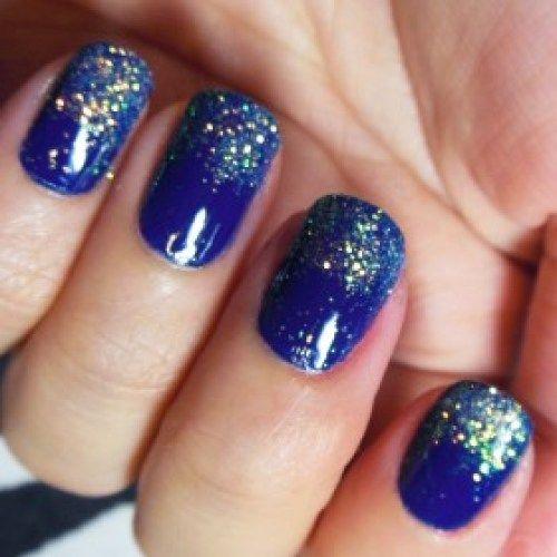Sparkle nails pinterest nails nail designs and blue Wedding dress design app