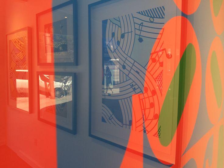 Lichtenstein inside LOVE