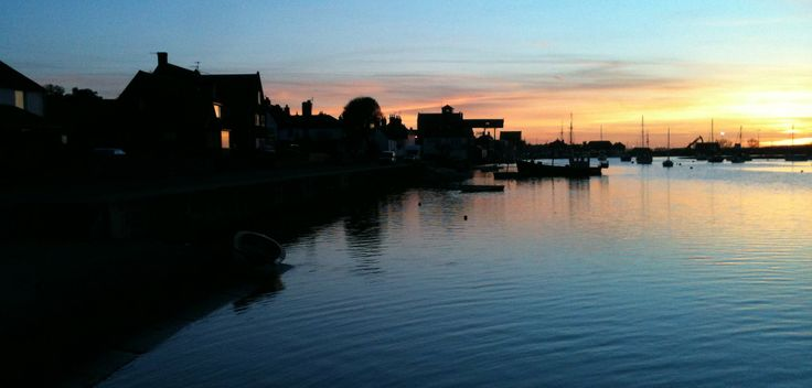 Sunset in Wells-Next-The-Sea
