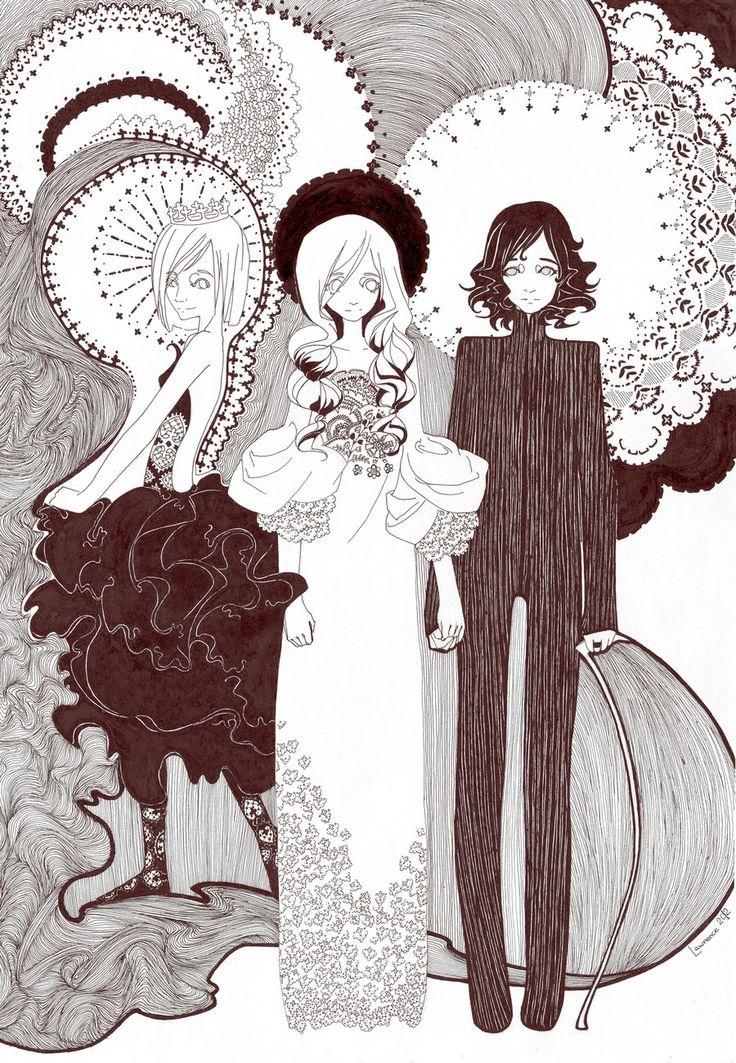 Trio by Lawrence-Wilwarin.deviantart.com on @DeviantArt