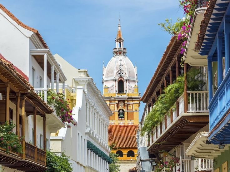 CARTAGENA, COLOMBIA: Summery weather sticks around 12 months of the year in Cartagena, making a quick jaunt there—to admire the colonial architecture, stroll through the shady parks and plazas, and dine at ceviche restaurants like El Boliche or La Cevichería—a great idea at any time.