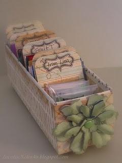 organized tea box. I have too much tea!