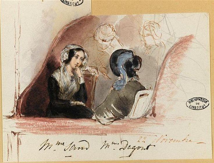 George Sand par Mathilde Odier (05) - George Sand — Wikipédia