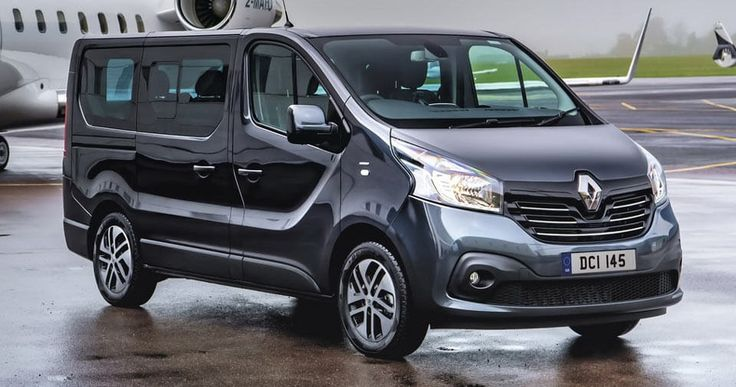 Renault Trafic SpaceClass Launches In The UK As A High-End Shuttle #Galleries #New_Cars