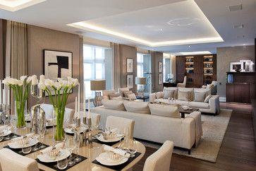 TRAFALGAR SQUARE contemporary living room