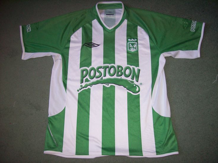 Atletico Nacional Football shirt from 2006/07, size Medium, Price £49.99 at www.classicfootballshirtscouk.com  Club play in Colombia