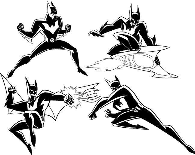 Batman Beyond Model Sheet II by Nes44Nes.deviantart.com on