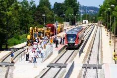 Júniusban átadásra kerül az Esztergom-Budapest vasútvonal