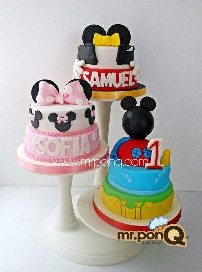 28 best images about famous character cakes tortas de - Casa de minnie mouse ...