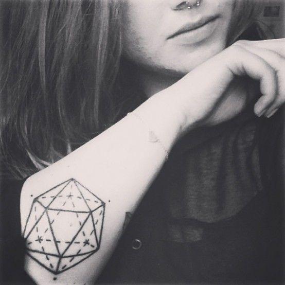 Geometric tattoo via Tattoologist  www.tattoologist.com