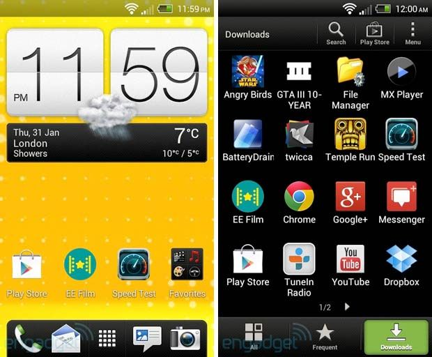 How to take screenshot in HTC One