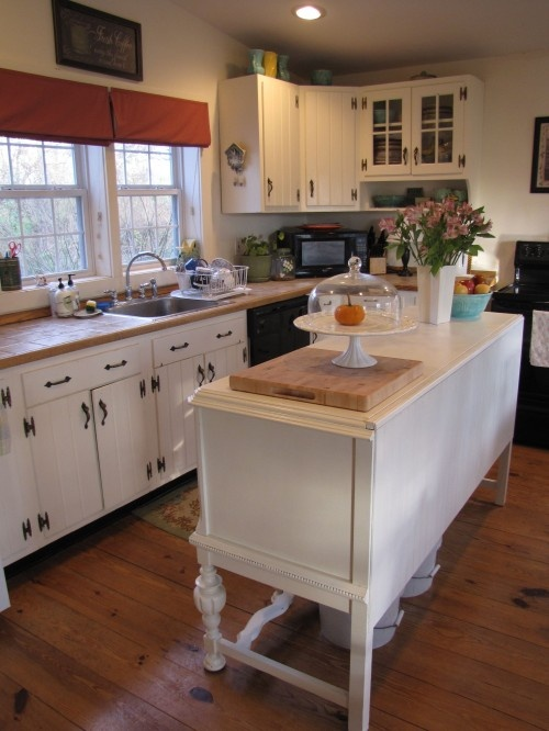 Like The Vintage Buffet For An Island Kitchens Diy