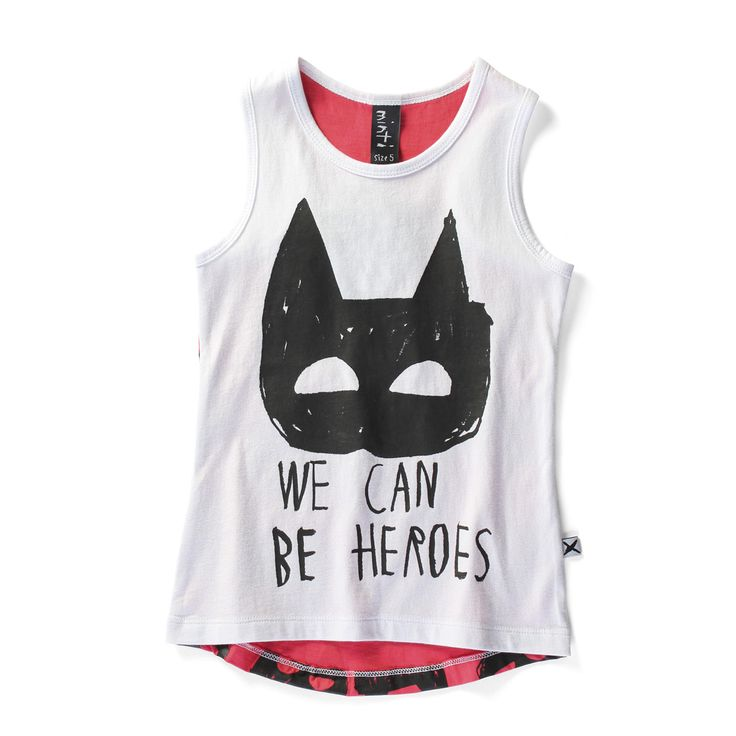 Minti - We Can Be Heroes Tail Singlet