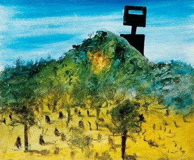 Australian Artist Sidney Nolan painted a series on Ned Kelly