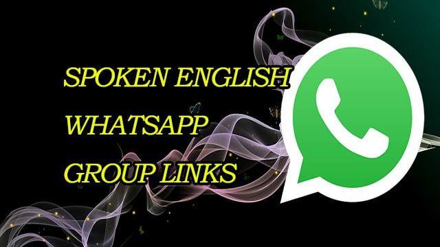 New Spoken English WhatsApp Group Links | Whatsapp Groups in