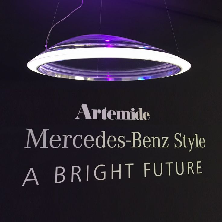 LiVE ‪#‎LB16‬  ‪#‎DiscoverAmeluna‬ : A for Artemide, M for Mercedes-Benz and Luna for the moon. This suspension mixs emotions and techniques, design and heritage. ► http://bit.ly/Ameluna ‪#‎design‬ Mercedes-Benz