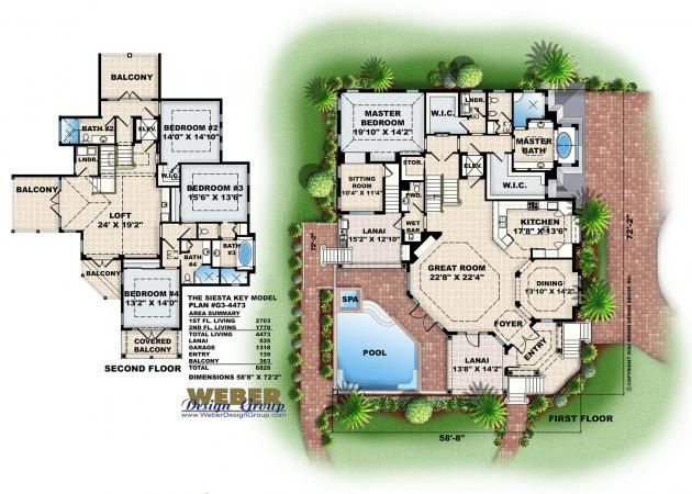 28 best 3Story House Plans images – Coastal Style Home Floor Plans